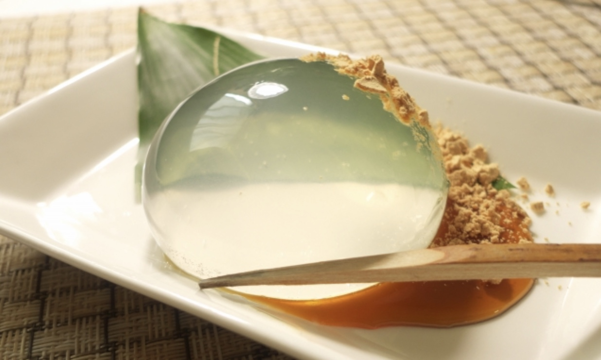 レシピ 餅 水 信玄 ガリガリ君で作る!ソーダ水信玄餅(風)ゼリー |