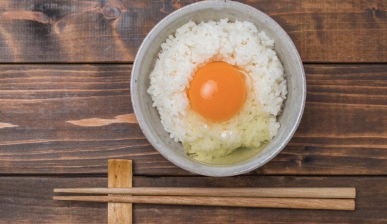 くま たん 卵 ご飯 かけ